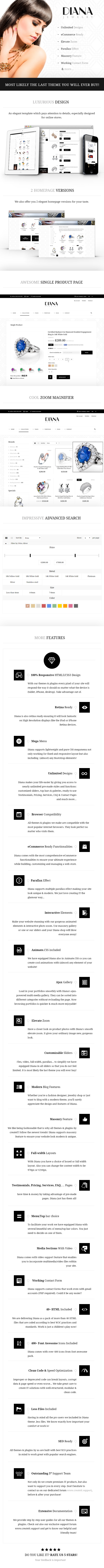 Diana e-Commerce HTML Template